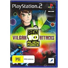PLAYSTATION 2 BEN 10 ALIEN FORCE VILGAX PAL PS2 [UVG] YOUR GAMES PAL