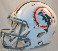 MIAMI DOLPHINS (1966 TRIBUTE) Riddell Full-Size Speed Authentic Helmet