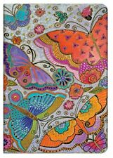"Paperblanks Journal Laurel Burch ""Flutterbyes"" Midi 4¾x6¾"" Book Writing LINED"