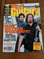 "GUITAR ONE MAGAZINE ""John Petrucci & Paul Gilbert"" December 2006"