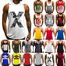 Mens Gym Bodybuilding Vest Tank Top Muscle Sport Fitness Stringer Casual T-Shirt