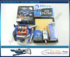 Service Kit with EAGLE H/Duty Leads for HOLDEN COMMODORE VT VX VY - V6 3.8L