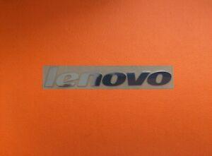 1 pcs Lenovo Skylake Silver Chrome Color Sticker Logo Decal Badge 60mm x 9mm