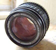 SMC Pentax-M 1:1.4 f1.4 50mm K Mount Lens Minty