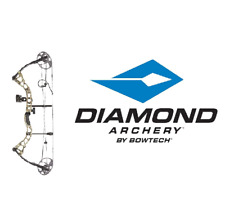 Bowtech Diamond Archery Prism Right Hand Compound Bow 5-55# RTH - CAMO