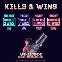 Apex Legends Kills/Wins Boost - Quickly and efficiently!!!