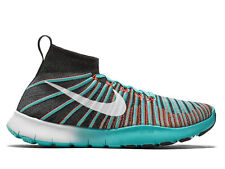 NIKE Free Train Force Flyknit Training Gym Shoes 833275 Black Jade Mens Size 9