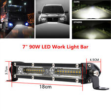 7inch 90W Spot Flood Beam Combo LED Work Light Bar Car Off-Road Driving Fog Lamp