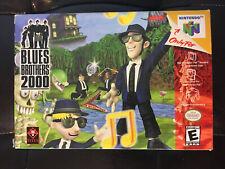 Blues Brothers 2000 - Nintendo 64 - N64 - GAME, BOX & BOX INSERT - Great Shape!