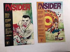 Insider Dark Horse Comics # 10,11