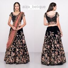 Wedding wear Designer Lehenga Indian Latest saree Bollywood lengha choli RTC