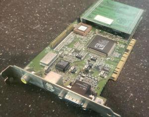 ATi 3D Rage II 109-37900-00 TV VGA Video PCI Card Turbo 8MB with Memory Upgrade