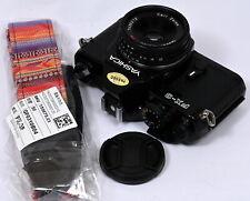 Yashica FX-3 Manual/Mechanical 35mm Film SLR + CZ Tessar T* 45mm f/2.8 Lens Kit