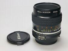 Nikon MICRO-NIKKOR 55mm f2.8 AIS