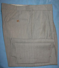 Mondo di Marco grey striated pattern wool dress pants  38 x 30 1/2 (P2)