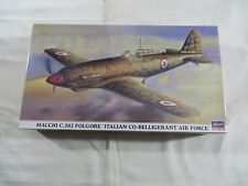 Hasegawa 1:48 Macchi C.202 Folgore Italian Air Force Model Kit 09504 SEALED