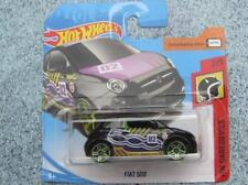 HOT WHEELS 2018 #000/365 FIAT 500 Nero HW daredevils Caso e