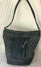 "Vera Bradley ""Abby"" Quilted Denim Collection Tote Bag"