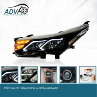 Pair DRL LED LH+RH Head Light For Toyota Corolla ZRE172R Series 14-17  Angel Eye