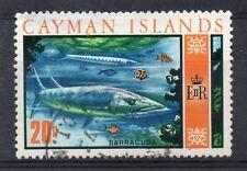 CAYMAN ISLANDS = 1970 Decimal Currency. 20c Great Barracuda. SG284. Fine Used.