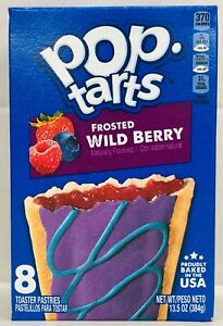 Kellogg's Pop Tarts Frosted Wild Berry Toaster Pastries 13.5 oz