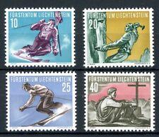 Liechtenstein MiNr. 334-37 postfrisch MNH Sport (O6049