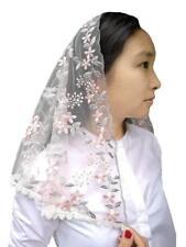 Church Head Veil Elegant Catholic Orthodox Mantilla Head Cover Lace Light Tulle