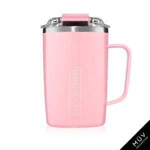 BRUMATE TODDY Mug 16 oz Leak proof Locking Lid hot or cool - BLUSH Pink