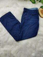 Lucky Brand women size 6/28 blue denim dark wash cropped ankle jean pants