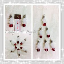White Christmas Tree Charms