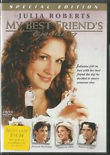 MY BEST FRIEND'S WEDDING SPECIAL EDITION  DVD BRAND NEW SEALED JULIA ROBERTS