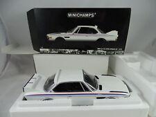 1:18 Minichamps #180029021 BMW 3.0 Csl W/ Alerón Set Blanco 1973 - Rareza§