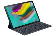 Keyboard Book Cover Schutzhülle Tastatur für Samsung Tab S5E EJ-FT720 Schwarz
