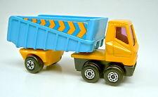 """Matchbox Superfast Nr. 50B Articulated Truck blau & gelb """"Streifen"""" Aufkleber"""