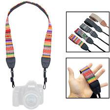 Kameragurt in schickem Design: Schultergurt passend für Canon, Nikon, Sony, Fuji