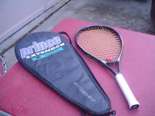 Prince Extender Synergy CTS Graphite OS Tennis Racquet 4 3/8 w Case Pro Overwrap
