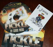 Fickle --Magic Tao-- visual, looks like Marlo's snap change, but easier!    TMGS