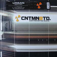 "Urban* – Bust A Nut - Contaminated Muzik CTM9833-1 VINYL 12"" TECHNO"