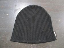 Stussy Beanie Hat Cap Black White Knit Skull Cap Skater Surf Surfer Streetwear