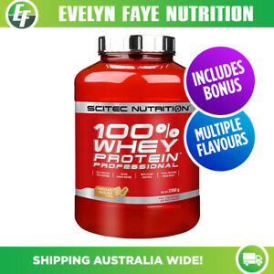 SCITEC NUTRITION 100% Whey Protein Professional 2.35kg (5lb)   BONUS SHAKER