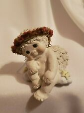 Dreamsicles Angel Wishg n hoping figurine Euc