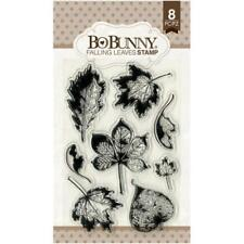Bo Bunny Clear Stamps - Falling Leaves, Fall Autumn Leaf