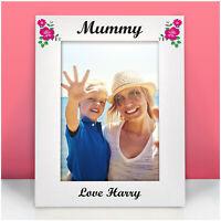 PERSONALISED Photo Frame Gifts for Birthday Mummy Nanny Granny Mam Mom Her