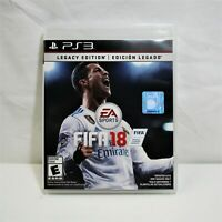 FIFA 18 Legacy Edition: PS3 *EXCELLENT CONDITION* (QW)