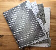 Filofax A5 Organiser Planner - Pretty Silver / Grey  Dividers - Fully Laminated