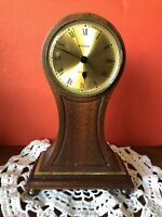 Bulova Desk Clock Wood Finish
