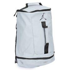 e957a2a35db3 Nike Air Jordan Multi Function Shoe Backpack Duffel Bag Gym Grey 9A1941 G34