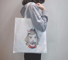 10pcs Sublimation blank diy customize Print Eco Shopping Bag Reusable Eco bag