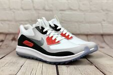 NEW $175 NIKE ZOOM 90 IT WOMEN'S GOLF SHOES WHITE/GREY 844648-100 SZ 7 AIR MAX