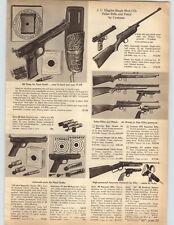 1959 PAPER AD Hahn Air Rifle BB Gun Sheridan Blue Streak .20 Caliber JC Higgins